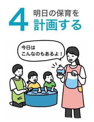 4,明日の保育を計画する