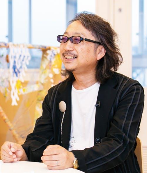 大豆生田啓友先生の写真